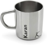 Hot Muggs Me Classic  - Karan Stainless Steel Mug (200 Ml)