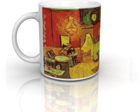 Seven Rays The Night Cafe Vincent Van Gogh Mug (Multicolor, Pack Of 1)