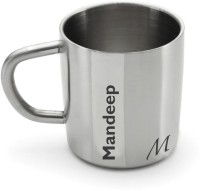Hot Muggs Me Classic  - Mandeep Stainless Steel Mug (200 Ml)