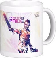 Exoctic Silver Chennai Super King IPL Series XXX 027 Ceramic Mug (300 Ml)