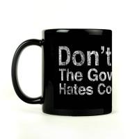 Shoprock Government Steal Mug (Black, Pack Of 1)
