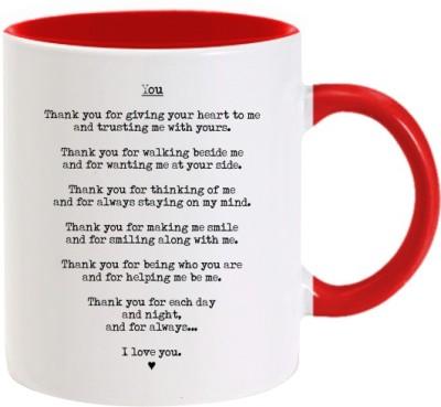 Lolprint 293 Valentines Day Ceramic Mug