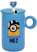 Enfin Homes Plates & Tableware Enfin Homes Despicable Me Blue Porcelain Mug