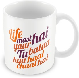 Merchbay Life Mast Hai Ceramic Mug