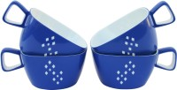 Techware Microwaveable Tea Cups Plastic Mug (150 Ml, Pack Of 4)