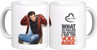 Exoctic Silver Salman Khan Quotes X003 Ceramic Mug (300 Ml)