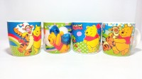 Dayinternational Winnie The Pooh Cup Set Of Four Ceramic Mug (250 Ml, Pack Of 4)