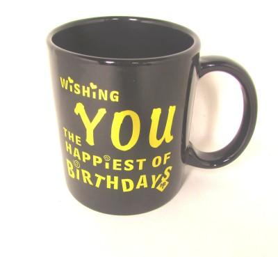 Artycrafts Happy B,Day  Ceramic Mug