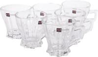 BLinkMax KTZB57 Glass Mug (190 Ml, Pack Of 6)