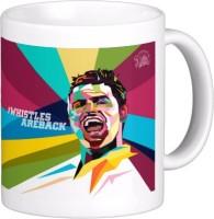 Exoctic Silver Chennai Super King IPL Series XXX 011 Ceramic Mug (300 Ml)