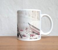 StyBuzz Eiffel Tower Cute Ceramic Mug (300 Ml)