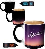 Hot Muggs You're The Magic… Asmita Magic Color Changing Ceramic Mug (350 Ml)
