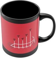 PosterGuy Cycle Graph Art Illustration Graphic Design Ceramic Mug (280 Ml)