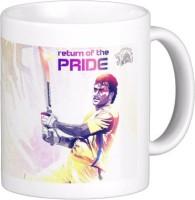 Exoctic Silver Chennai Super King IPL Series XXX 025 Ceramic Mug (300 Ml)