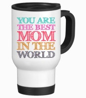 Tiedribbons Best Mom In The Worls Gifts For Mom Travel Stainless Steel Mug (350 Ml)