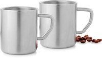 Mosaic Straight - Big Stainless Steel Mug (Pack Of 2)