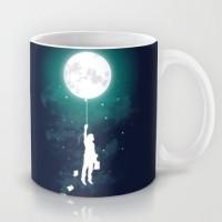 Astrode Burn The Midnight Oil Ceramic Mug (325 Ml)