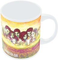 PosterGuy Friends In Technicolor TV Series Inspired Fan Art Ceramic Mug (280 Ml)