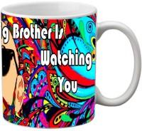 Mesleep Big Brother 50 Ceramic Mug (325 Ml)