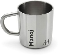 Hot Muggs Me Classic  - Manoj Stainless Steel Mug (200 Ml)