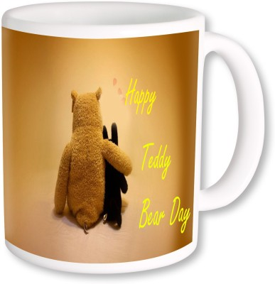 Heyworlds Teddy Bear Day 0010 Ceramic Mug