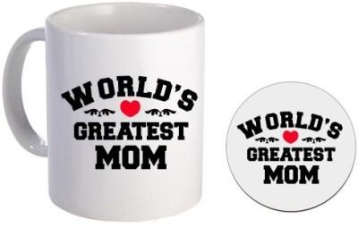Giftsmate Greatest Mom Ceramic Mug
