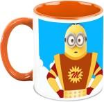 HomeSoGood Plates & Tableware HomeSoGood Powerful Minion In Despicable Me Ceramic Mug