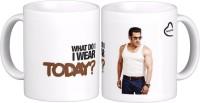 Exoctic Silver Salman Khan Quotes X023 Ceramic Mug (300 Ml)
