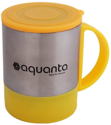 Aquanta JN-005-Yellow Stainless Steel Mug