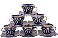 Khurja Crockriz Ideal Ceramic Mug (100 Ml, Pack Of 12)