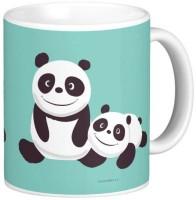 Exoctic Silver Kung Fu Panda 22 Ceramic Mug (300 Ml)