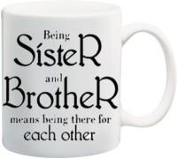 Mesleep Great Sister 73 Ceramic Mug (325 Ml)
