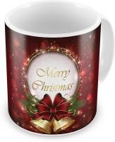 Little India Printed Fancy Style Maroon Coffee  606 Ceramic Mug (300 Ml)