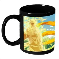 AMY Orange Naruto Pokemon Ceramic Mug (325 Ml)
