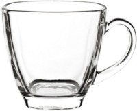Blinkmax KTZB47 Glass Mug (190 Ml, Pack Of 6)