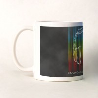 Shoperite Headphones On World Off Ceramic Mug (300 Ml)