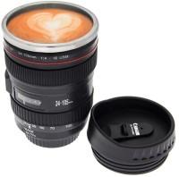 ShadowFax Camera Lens Coffee  400 ML For Picture Perfect Morning Coffee Plastic Mug (400 Ml)