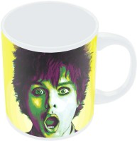 PosterGuy Billie Joe Armstrong Green Day Inspired Fan Art Ceramic Mug (280 Ml)