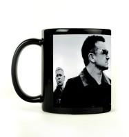 Shoprock U2 Band Mug (Black, Pack Of 1)
