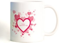 ShopMantra Bicycle Love Couple Mug (White, Pack Of 1)