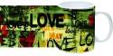 Printland Love You Mug - Multicolor, Pack Of 1