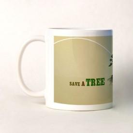 Shopshree Save Trees Ceramic Mug