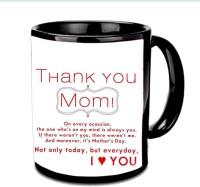Jiyacreation1 Thank You MOM On Every...Multicolor Ceramic Mug (3.5 Ml)