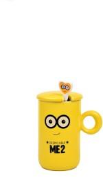 Enfin Homes Plates & Tableware Enfin Homes Despicable Me Yellow Porcelain Mug