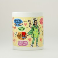 Chumbak MG172 Porcelain Mug (500 Ml, Pack Of 110)