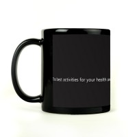 Shoprock Arnold Quote Mug (Black, Pack Of 1)