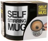 Gadget Bucket Self Stirring Stainless Steel Mug (350 Ml)
