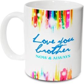 Hot Muggs Love you Brother Ceramic Mug