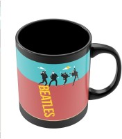 PosterGuy Beatles In The Sky | Pop Art Band Inspired Ceramic Mug (280 Ml)