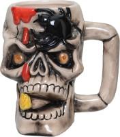 Lifestyle-You Creepy Cool Pirate Skull Beer IG53D Ceramic Mug (500 Ml)